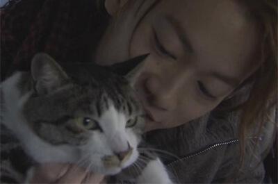 佐藤健と愛猫のこちろー