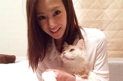 北川景子と愛猫のジル