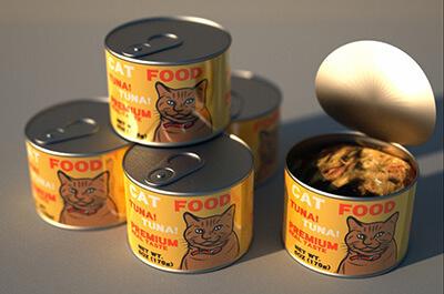 海外製の猫缶